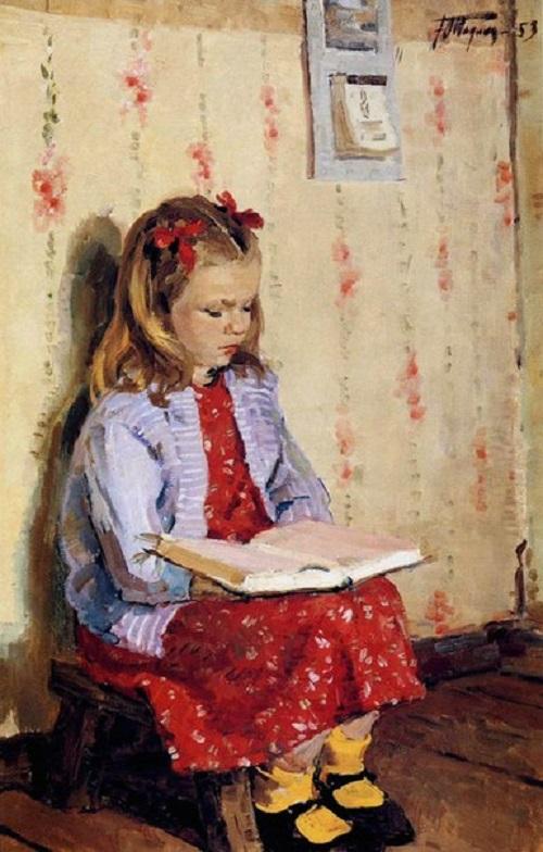 Soviet artist Yuri Podlyasky