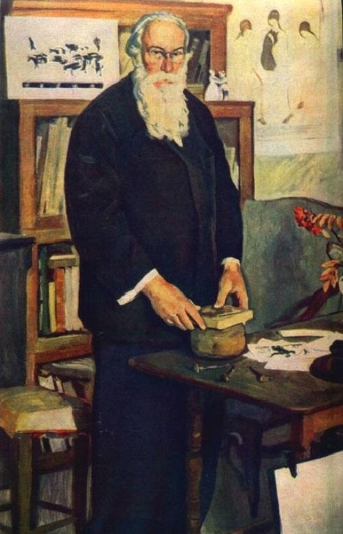 Soviet artist Dmitry Zhilinsky
