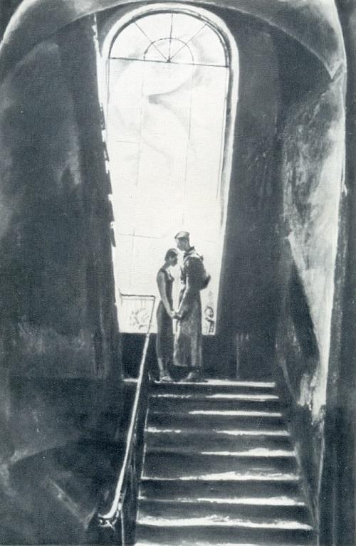 Soviet Artists Painting War Time. S. Kichko (b. 1946) Farewell. 1972. Oil on canvas