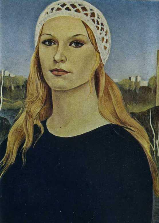 Self-portrait. 1973. Oil on canvas