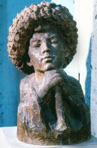 Soviet Kirghiz sculptor Turgunbai Sadykov