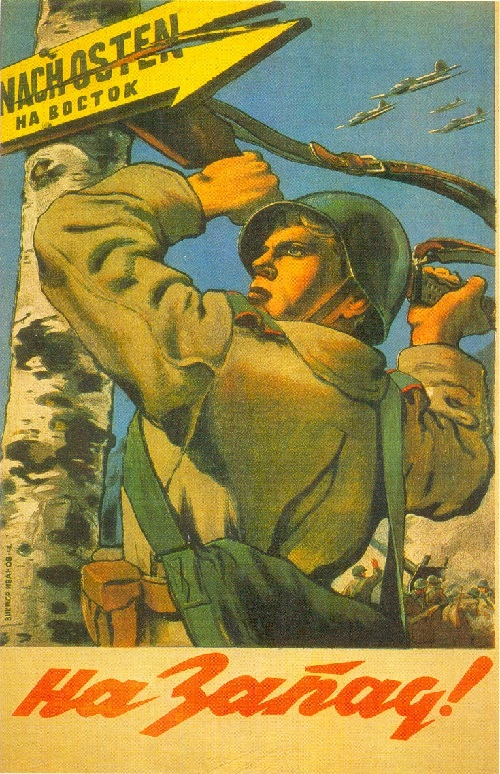 Soviet Artists Painting War Time