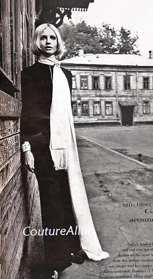 Soviet Twiggy Galya Milovskaya