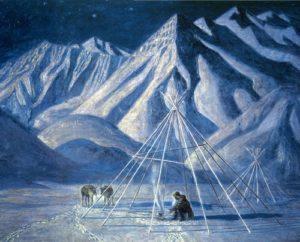 Soviet Yakut painter Afanasy Osipov