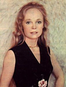 Soviet actress Natalia Belokhvostikova