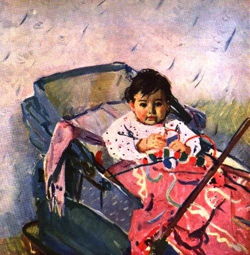 Soviet artist Tatyana Yablonskaya