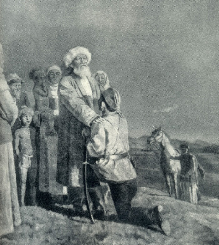 The blessing of Jambul. 1942