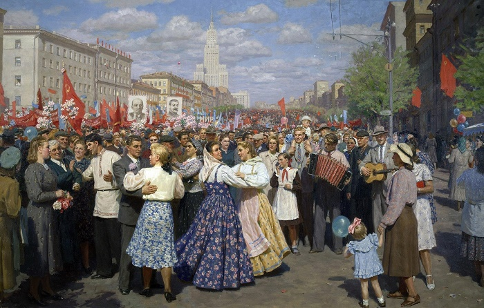 The first of May. 1952