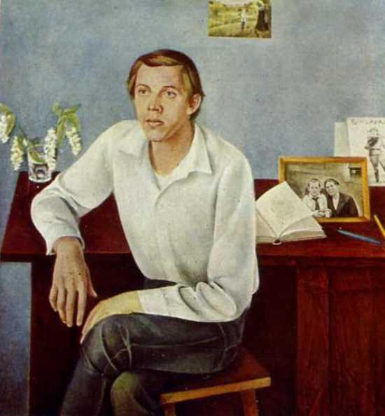 Valery Zolotukhin, Russian actor. Portrait. 1974