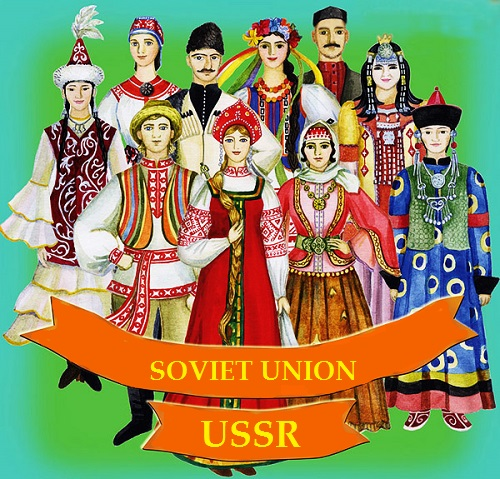 We are different, but we are together. USSR 15 republics