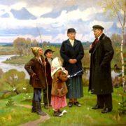 With Ilyich. 1981. Alexei Alexandrovich Shirokov (1923 - 1985)