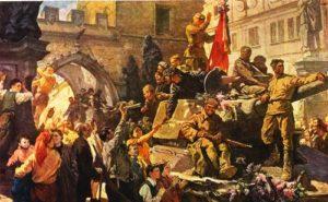 Soviet artists painting war 1941-1945