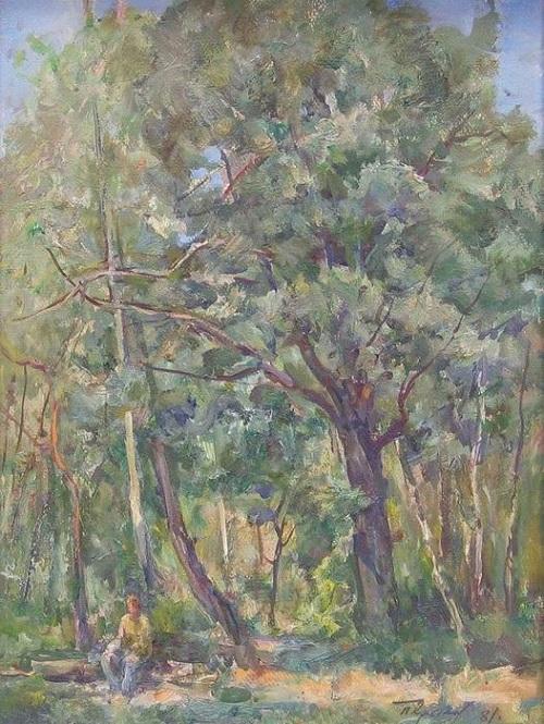 Soviet artist Porphyry Krylov