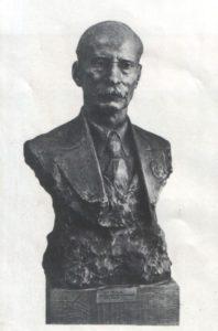 Z. Azgur. Yakub Kolas (writer). Gypsum. 1940