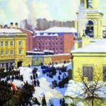 One-picture artists Soviet art gallery