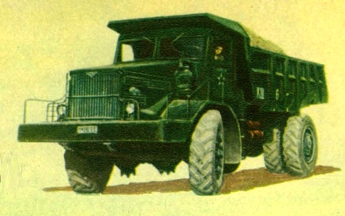 25-ton truck 'MAZ-525'