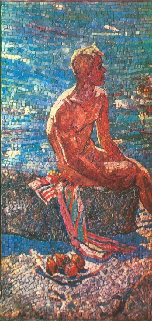 Soviet artist Alexander Deineka