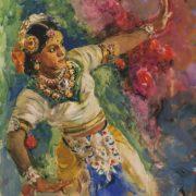 Bombay dancer. 1953