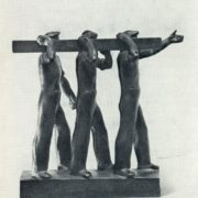 Carrying beam. Fragment. The project of a monument in Dauria. 1931