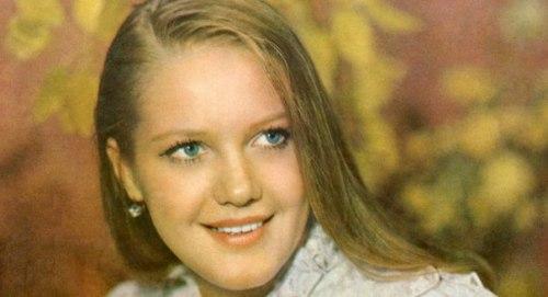 Beautiful Soviet actress Elena Proklova