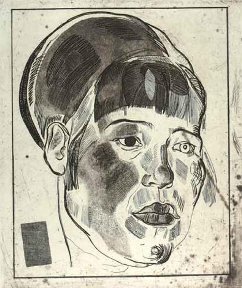 Female portrait. 1920s
