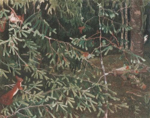 Soviet artist Arkady Rylov