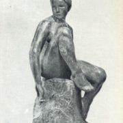 Girl swimmer. 1911