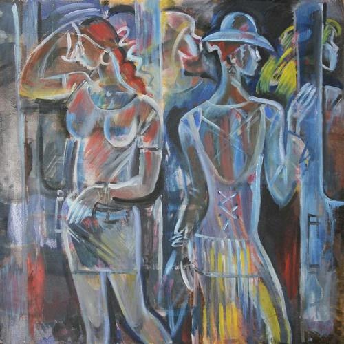 Soviet artist Marina Uspenskaya