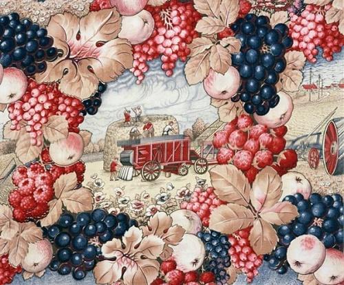 Soviet propaganda textile art