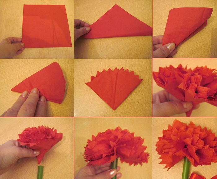 How to make a carnation