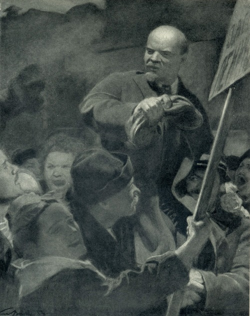 Lenin has come. 1956