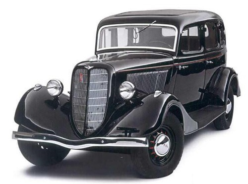 USSR Automotive Industry. March 16, 1936 - in the USSR at the Gorky Automobile Plant was produced the first Soviet passenger car M-1