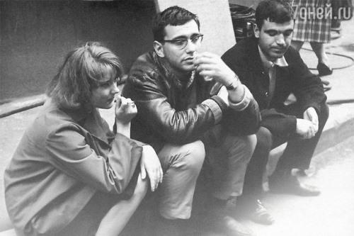 Marianna Vertinskaya, Andrey Mikhalkov Konchalovsky, Gennady Shpalikov