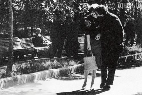 Marianna Vertinskaya and Andrey Mikhalkov Konchalovsky