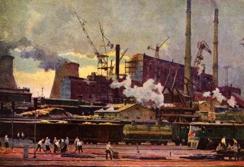 N. Osenev. Industrial symphony