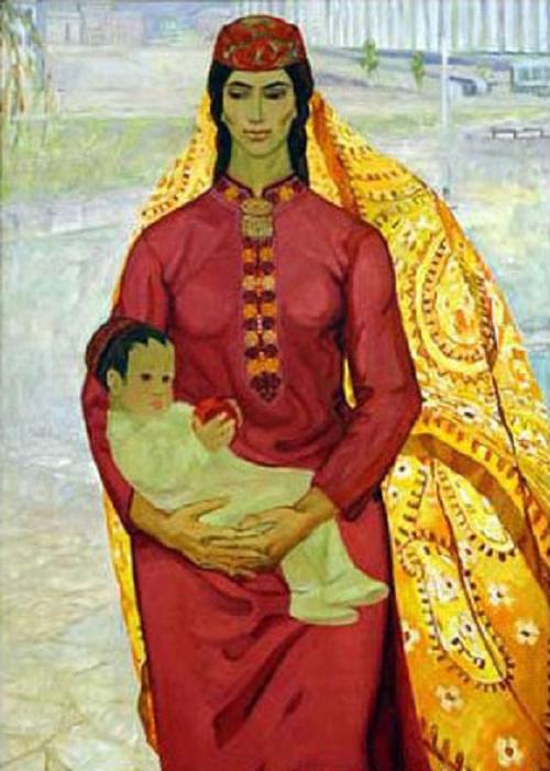 Nobleness of being yourself. Soviet artist Yevgenia Adamova