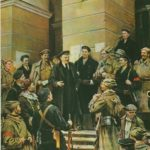 Soviet artist Nikolai Osenev