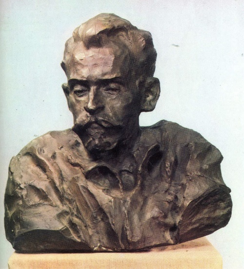 Portrait of artist Boris Musatov, 1959