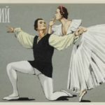 1958 Soviet Ballet Matchbox Labels
