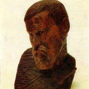 Stone cutter Ivan Semyonov. 1912
