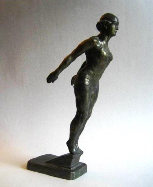Swimmer, 1930
