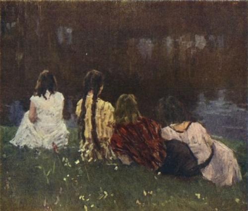 Painting by Soviet artist Vladimir Gavrilov