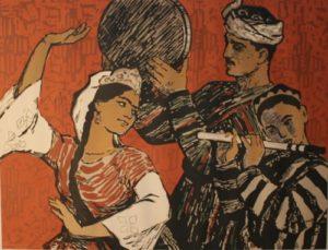Soviet artist Irina Vorobyova