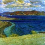 Soviet artist Victor Konstantinovich Dmitrievsky