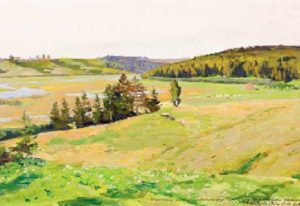 Soviet landscape painters
