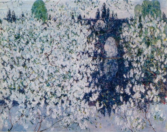 White spring. 1961. The Bashkir Art Museum