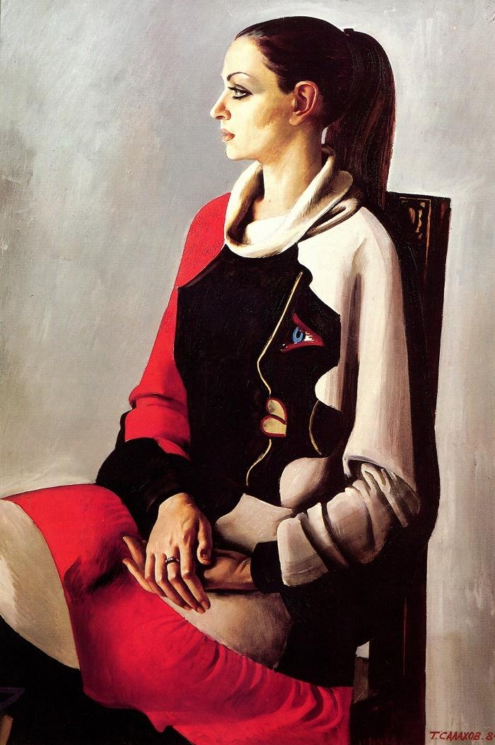 Woman's portrait. 1984