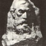 Pavel Tretyakov. Marble. 1975. Soviet sculptor Aleksandr Kibalnikov (August 9, 1912 – September 5, 1987)