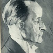 Detail of portrait of K.N. Igumnov. 1941-1943