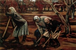 During the war time. 1958-1964. State Tretyakov Gallery